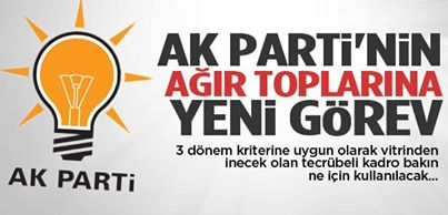 AK Parti'de 3. döneme takılanlara yeni görev