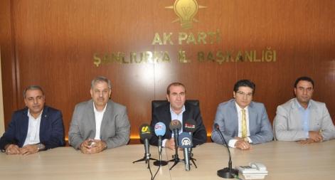 İşte AK Parti Haliliye, Eyyübiye ve Karaköprü İlçe listeleri