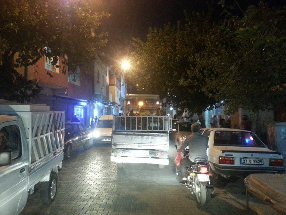 Süleymaniye'de trafik keşmekeşliği