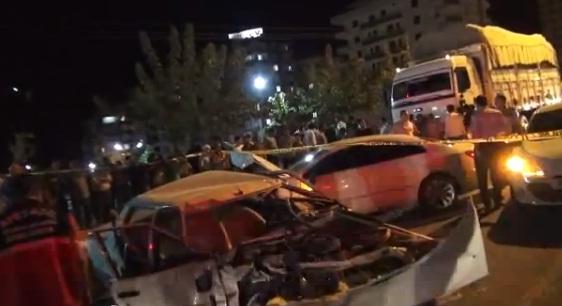 Karaköprü'de feci kaza VİDEO