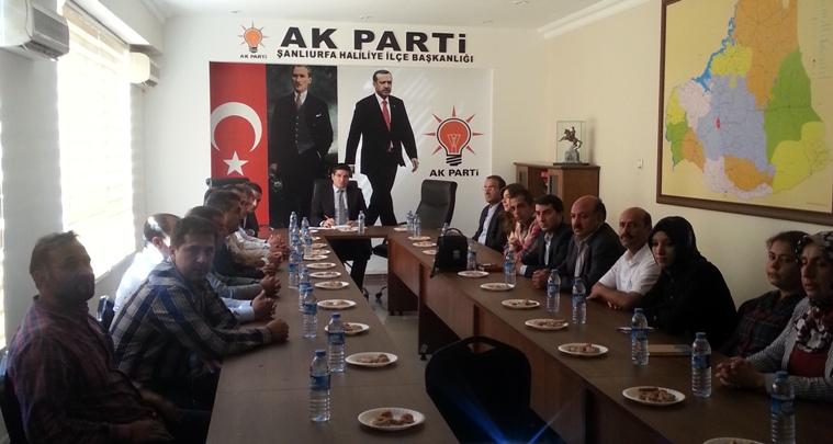 AK Parti Haliliye ilçesi startı verdi