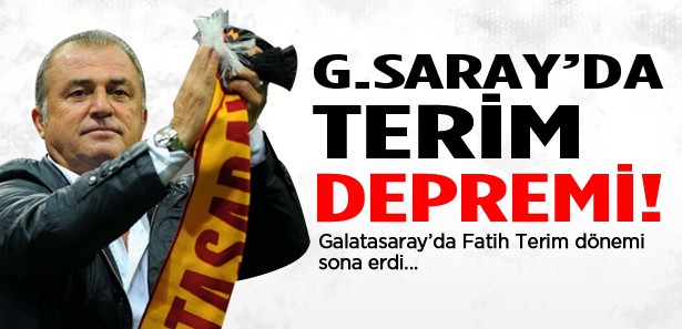 Galatasaray'da Fatih Terim ile yollar ayrıldı