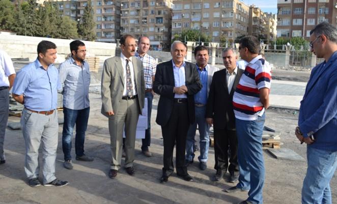 Bu Meydanda İlk Mitingi Başbakan Erdoğan Yapacak