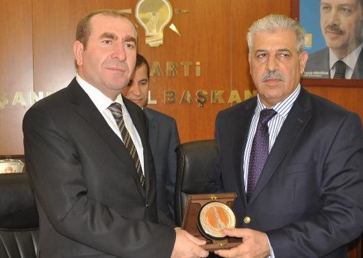 Musul Valisi Nuceyfi, AK Parti İl Başkanlığını ziyaret etti VİDEO