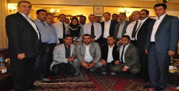 AK Parti Eyyübiye'de adaylarla bir araya geldi