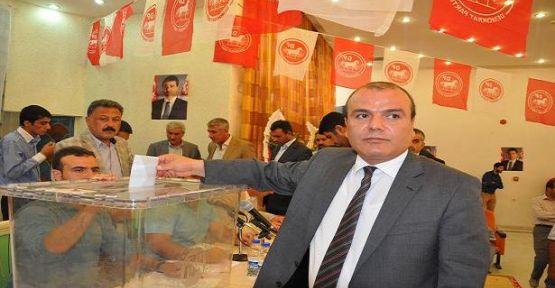 Murat Bengi yeniden DP İl Başkanı