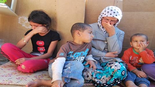 Şanlıurfa'da kirayı ödeyemeyen aile sokağa atıldı VİDEO