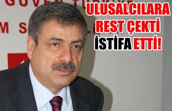 Şanlıurfa CHP İl Başkanlığından rest çekerek istifa etti
