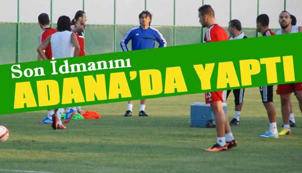 Şanlıurfaspor Adana Demirspor maçına hazır