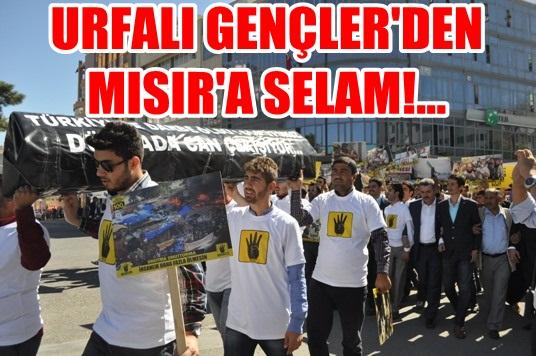 Urfa'da gençler darbeye karşı tabutla eylem yaptı VİDEO