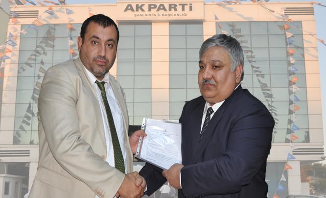 Ahmet Süzen AK Parti Karaköprü Belediye Başkan aday adayı oldu VİDEO