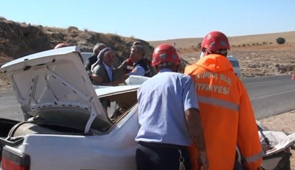 Şanlıurfa'da Katliam Gibi Kaza; 7 Ölü VİDEO
