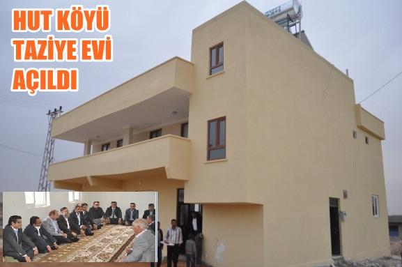 Hut köyünde taziye evi açılışı gerçekleşti VİDEO