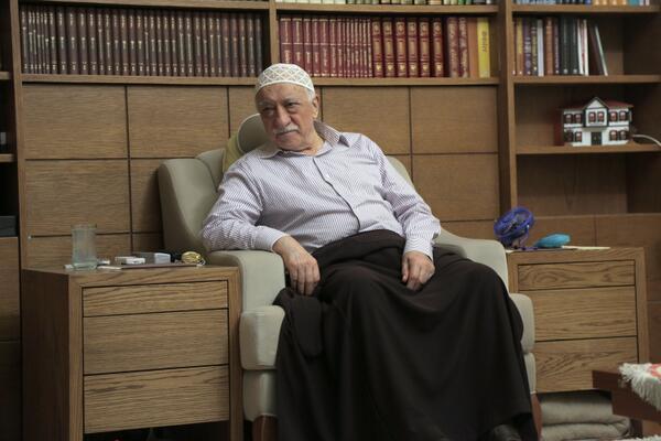 Hastane sonrası Fethullah Gülen'den ilk fotoğraf