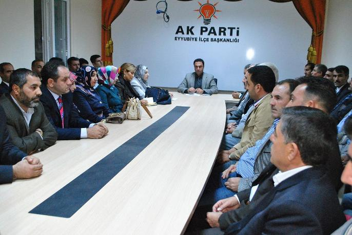 AK Parti Eyyübiye İlçe Yönetim Yürütme Kurulu Belirlendi