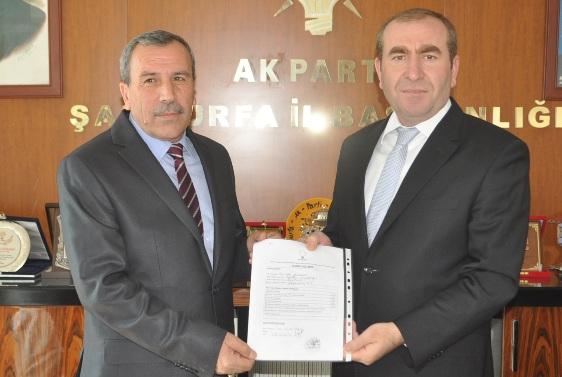 Mehmet Yıldım, Viranşehir Belediye Başkan Aday Adayı oldu VİDEO