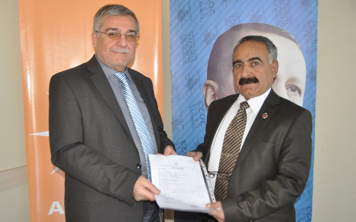 Halef Yıldız, Eyyübiye Belediye Başkan Aday Adayı oldu VİDEO