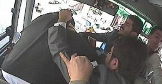 Şanlıurfa'daki şoförün dayak anı kamerada VİDEO