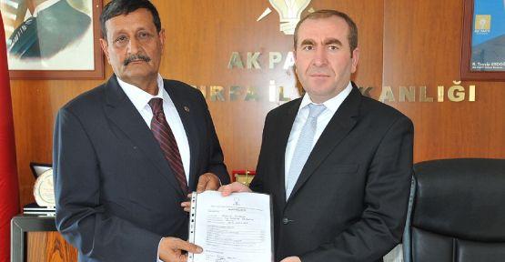 Harran Belediye Başkanı Mehmet Özyavuz, yeniden aday oldu