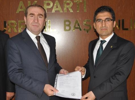 Şanlıurfa Büyükşehir Belediye ilk Başkan Aday Adayı Yahlizade oldu VİDEO