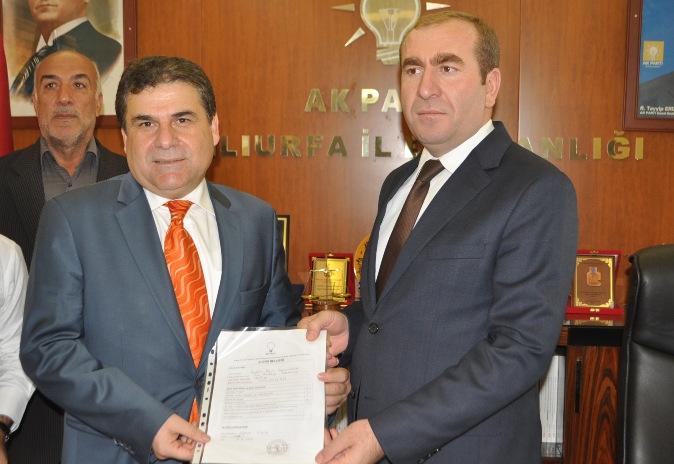 İbrahim Güllüoğlu, Haliliye Belediyesine talip oldu VİDEO