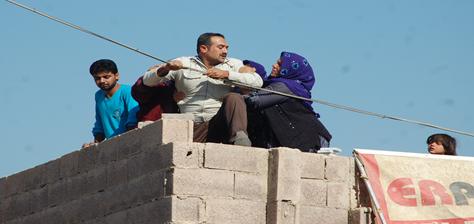Şanlıurfa'da yıkımda olay çıktı VİDEO
