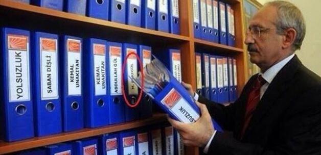 Kılıçdaroğlu, Sarıgül'ün yolsuzluk dosyası fotoğrafı