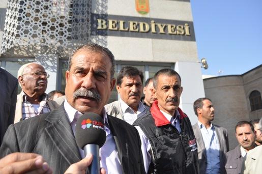 Urfalıların Belediyeye tapu isyanı VİDEO