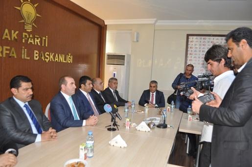 AK Parti Şanlıurfa Büyükşehir Aday Adayları görücüye çıktı VİDEO