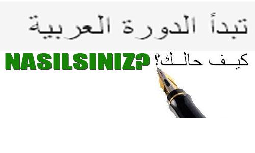 Arapça Kursu Kayıtları Başladı
