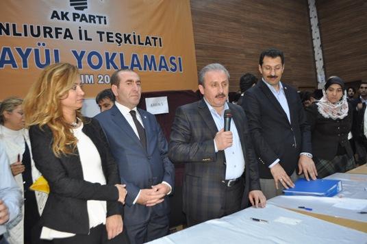 Mustafa Şentop, temayülde kime teşekkür etti? VİDEO