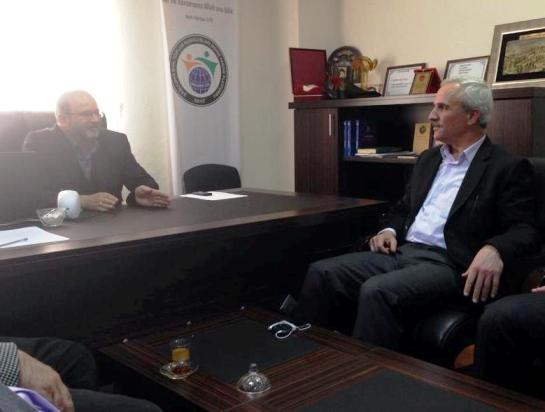 Ahmet Kaytan, STK gezilerini sürdürüyor