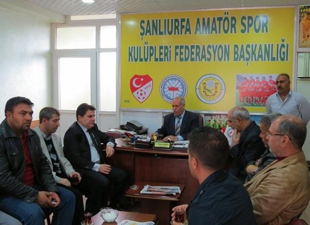 Güllüoğlu ASKF'yi ziyaret etti