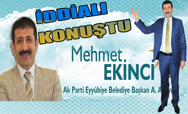 Mehmet Ekinci; Yeni Bir İlçe Kurmaya Adayım