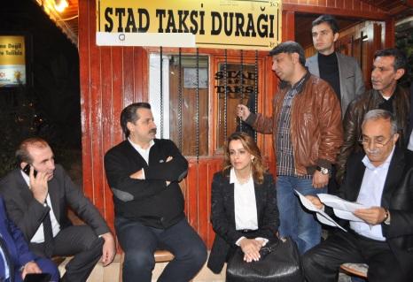 Şanlıurfa'da Bakan Çelik'in taksicilerle ilginç diyaloğu VİDEO