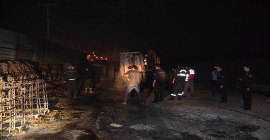Karaköprü'de patlama; 1 Yaralı
