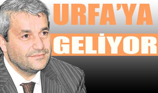 Teknoloji Bakanı Nihat Ergün Urfa'ya Geliyor
