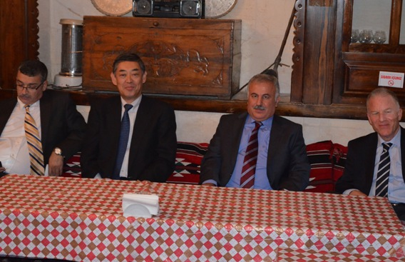 Japon Büyükelçi Harran Üniversitesini Ziyaret Etti
