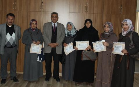 İsot Yarışmasında Dereceye Girenlere Ödülleri Verildi