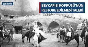 Beykapısı Köprüsü restore edilmeli