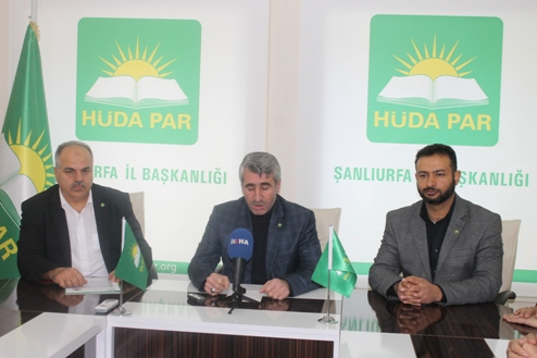 Hüda Par Şanlıurfa Belediye Başkan Aday Adayların müracaatını alıyor