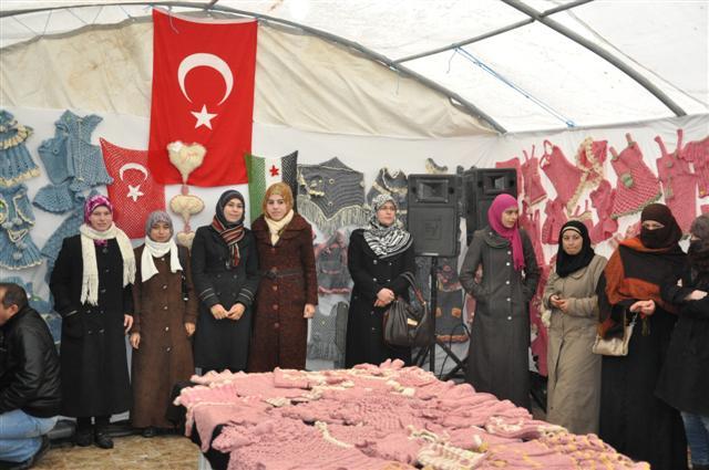 Suriyeli Bayanlar Urfa'da Sergi Açtı