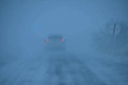 Urfa'ya kar yağdı, Akabe'de zincirleme kaza oldu