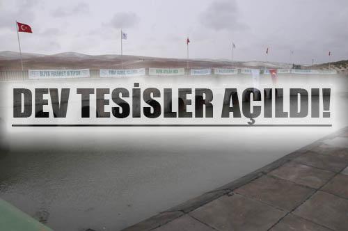 Suruç'a verilecek can suyunun açılışını Erdoğan yaptı