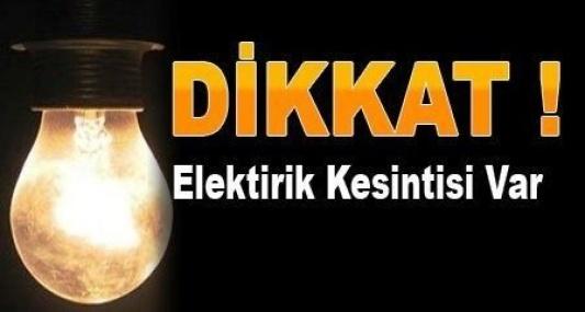 Urfa'da Elektrik kesintilerine devam