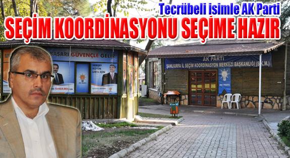 Tecrübeli Başkanla AK Parti Şanlıurfa SKM seçime hazır