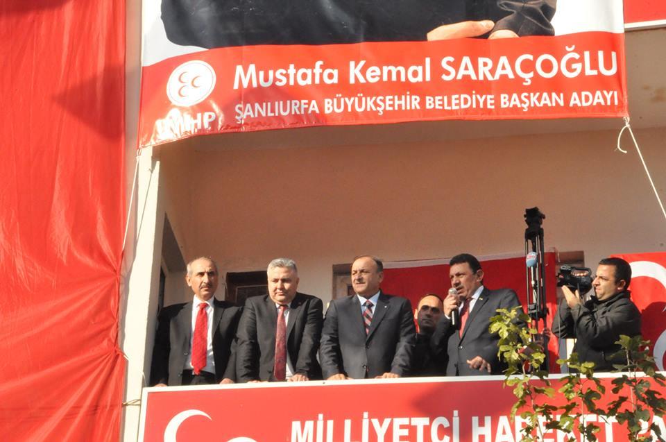 Oktay Vural, Saraçoğlu'nu yanına alarak AK Partiyi eleştirdi