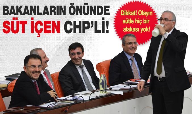 CHP'li Ensar Öğüt'ten mazot-süt hesabı