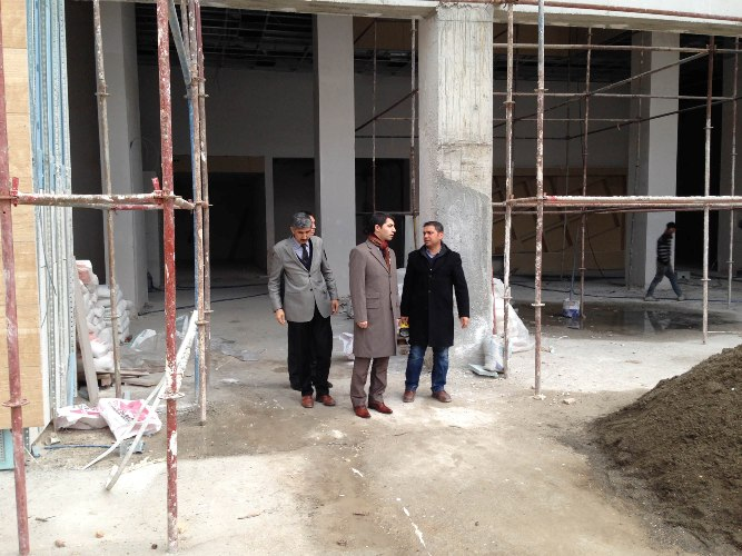 Haleplibahçe Mozaik Müzesinde çalışmalar devam ediyor