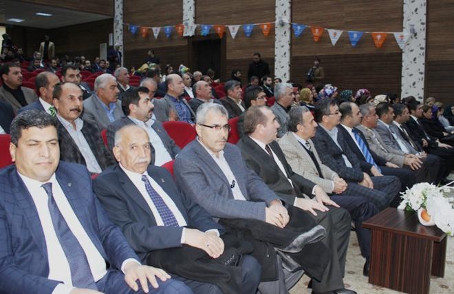 AK Parti İl Danışma Meclisinde Başkan Adayı Güvenç, konuştu